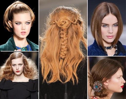 Peinados Otoño invierno 2014-15