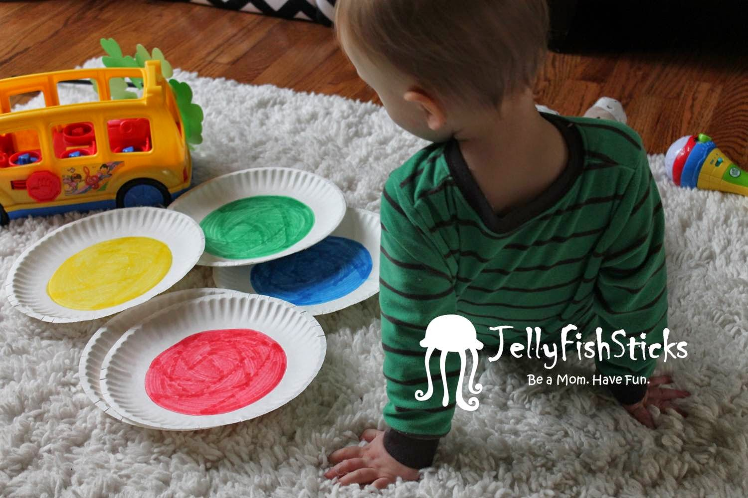 Introducing Toddlers to COLORS
