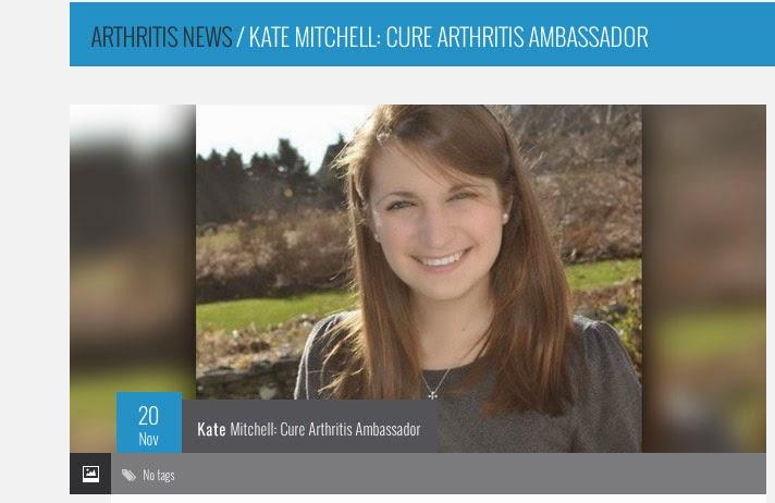 Cure Arthritis Ambassadore