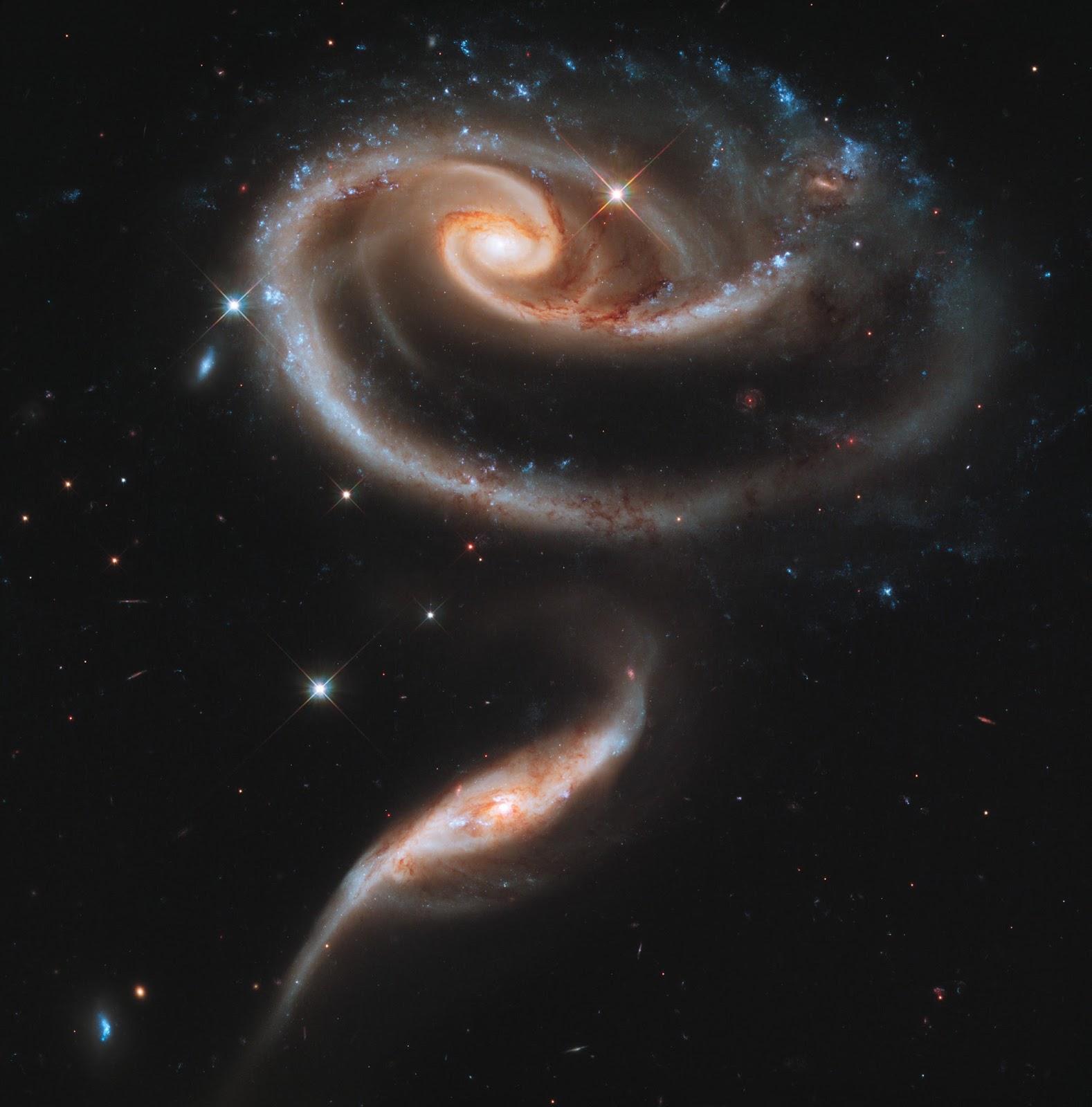Arp 273 Galaxy