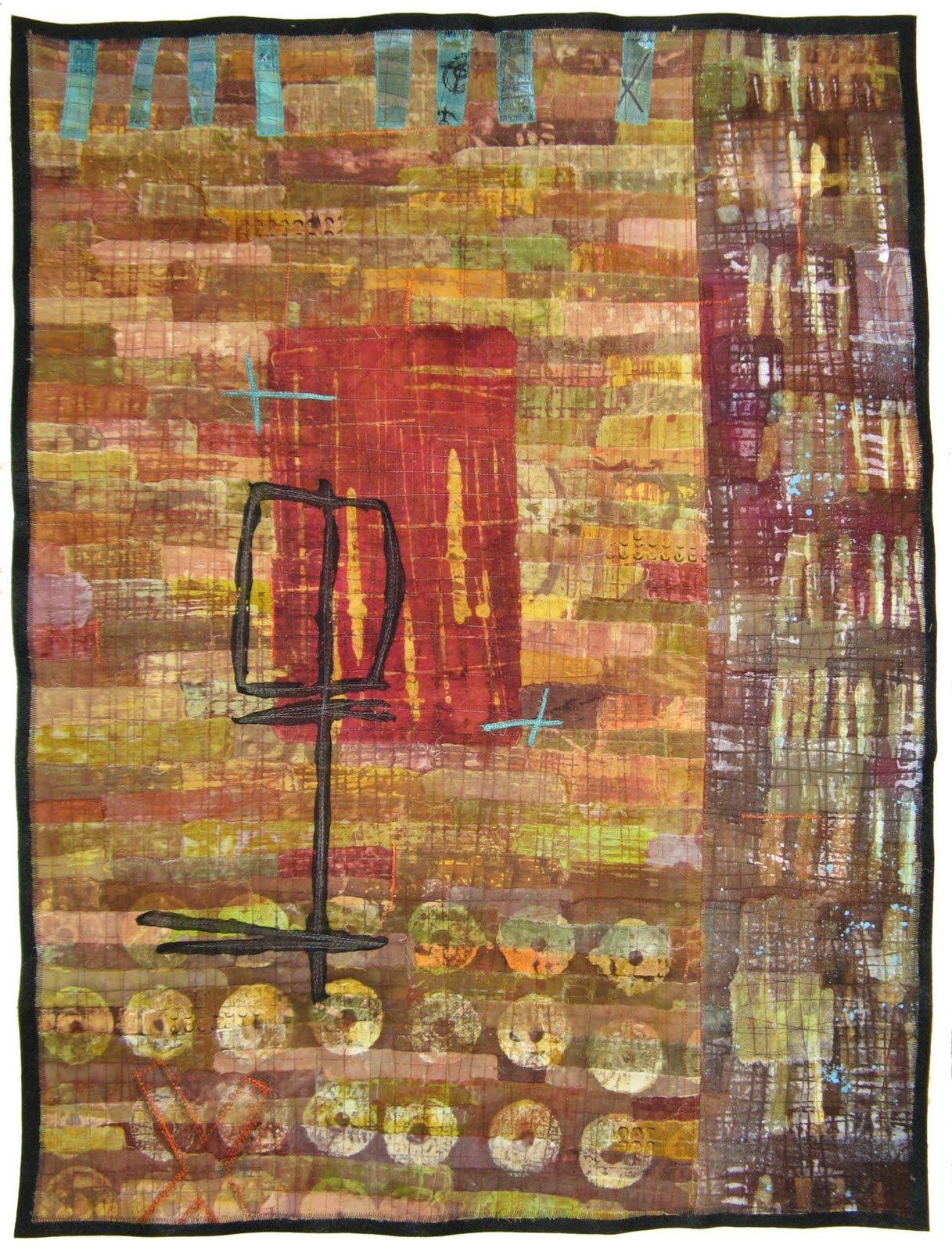 Saqa ohio jennifer solon and anne french exhibit in fiber for Art and craft shows in ohio