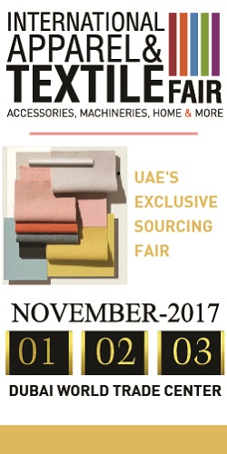 International Apparel and Textile Fair, 7th edition, Dubai World Trade Center