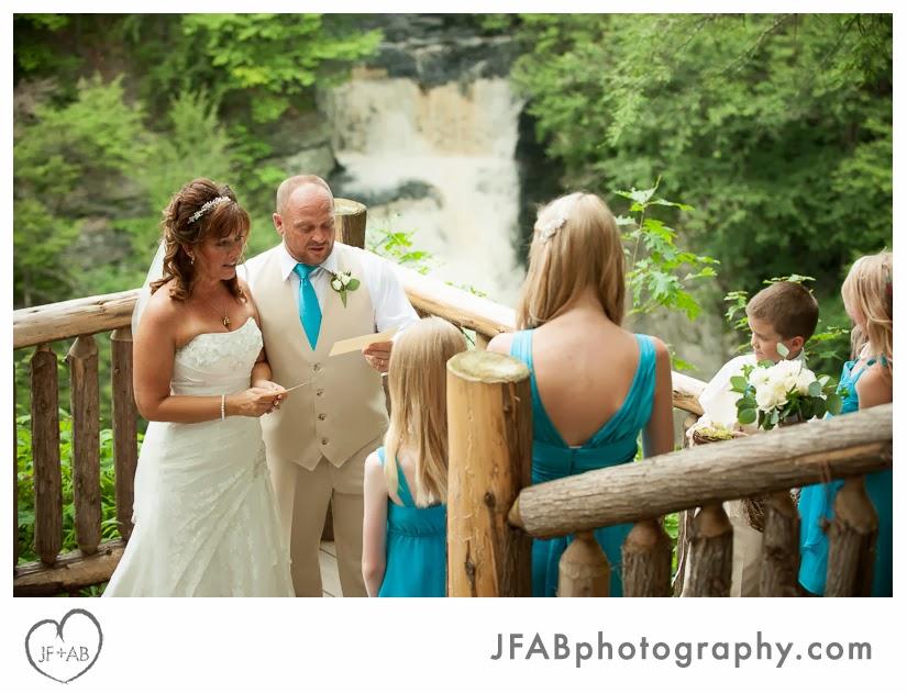 JF AB Photography Blog Sabrina And Anthonys Wedding At Bushkill Falls