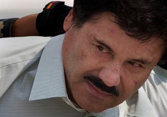 Is A Battle between Mexico's drug cartels and ISIS being engineered by CIA spooks?: Drug kingpin Joaquin 'El Chapo' Guzman, who escaped from a Mexican high-security prison in July 2015.