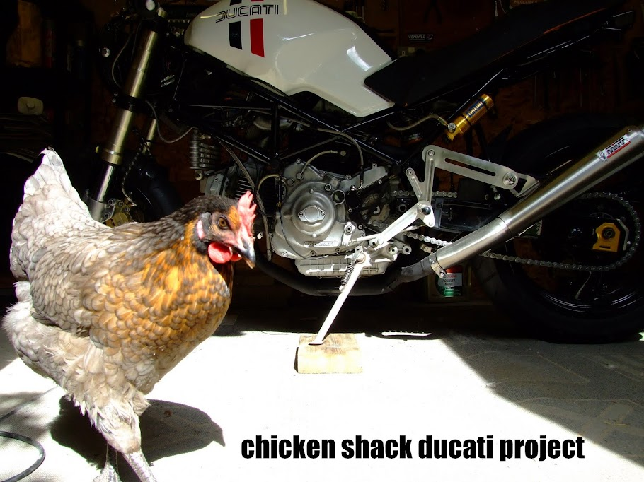 The Chicken Shack Ducati Project