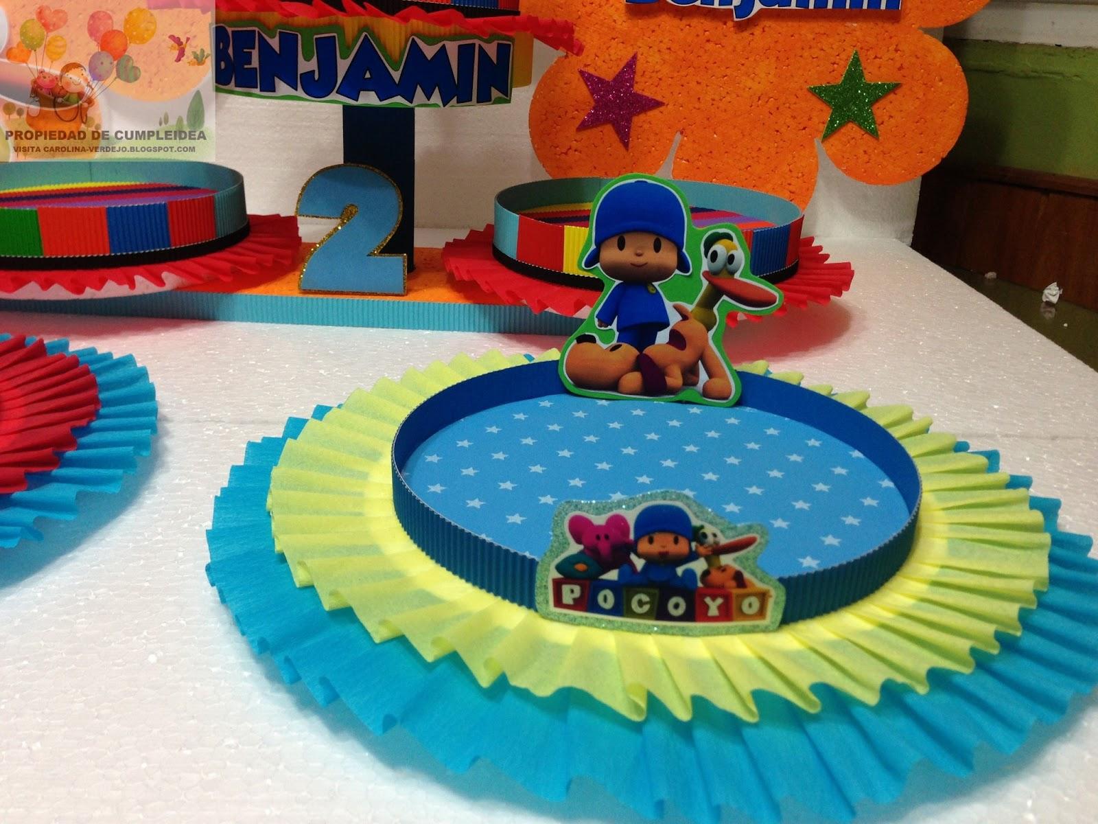 DECORACIONES INFANTILES: pocoyo