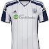 Adidas divulga camisas do West Bromwich Albion
