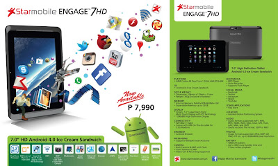 Starmobile Engage 7HD - Tablet Android 7 Inch Resolusi HD Dual Core - Berita Handphone