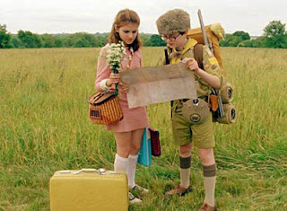 "Cena do filme ""Moonrise Kingdom"""