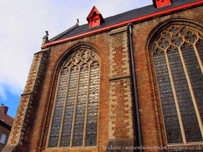 Bruges, Belgium in Autumn - architecture