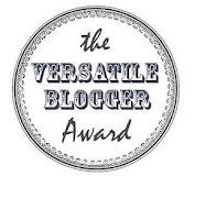 The VERSATILE BLOGGER Award!!!