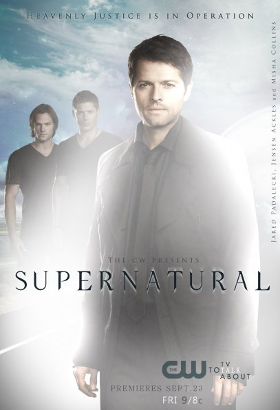Serie Poster Supernatural S07E23 SEASON FINALE HDTV XviD &amp; RMVB Legendado