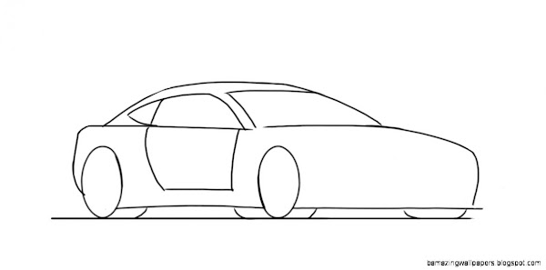 Cool Car Drawings Step By Step | Amazing Wallpapers