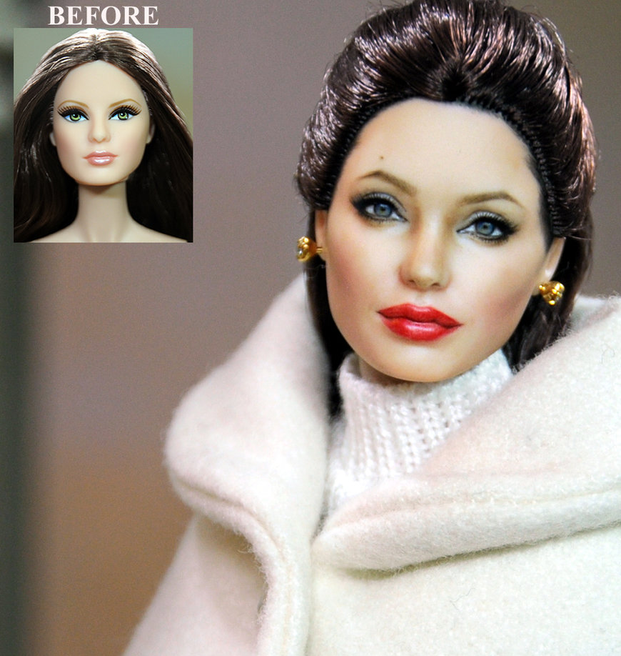 18-Angelina-Jolie-Noel-Cruz-Hyper-Realistic-Make-up-on-small-Dolls-www-designstack-co