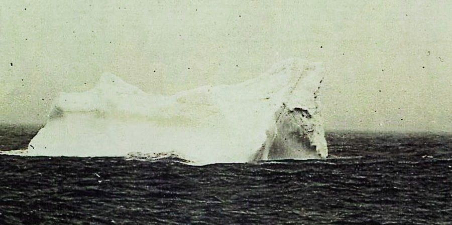 Another iceberg photographed April 20, from the German steamer