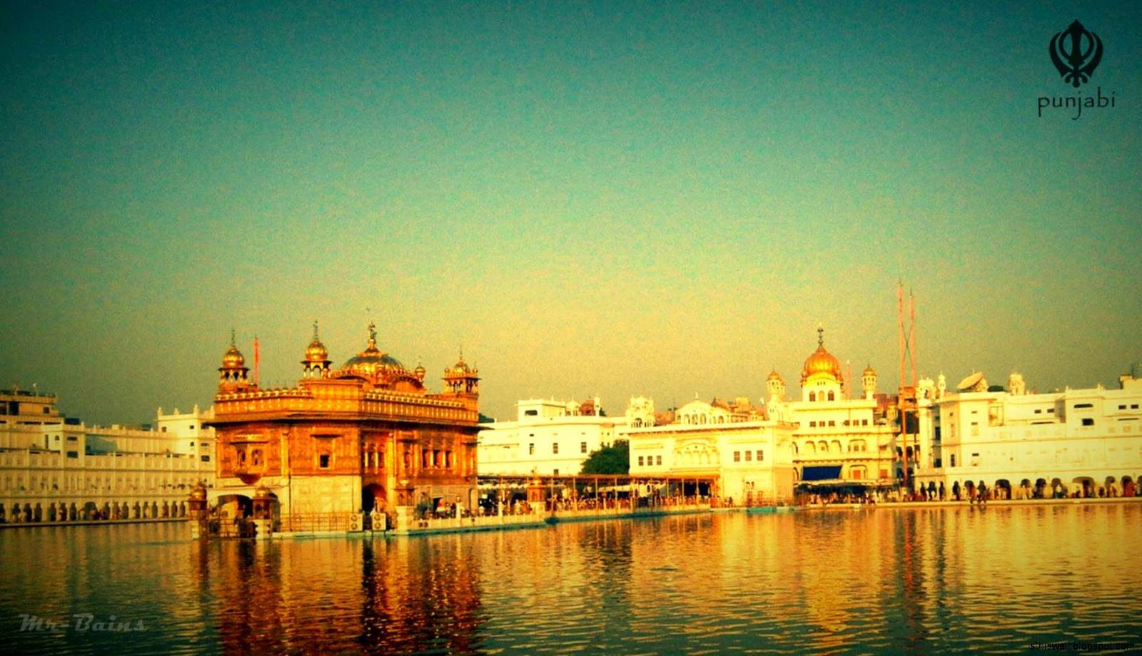 Sahib Golden Temple High Resolution