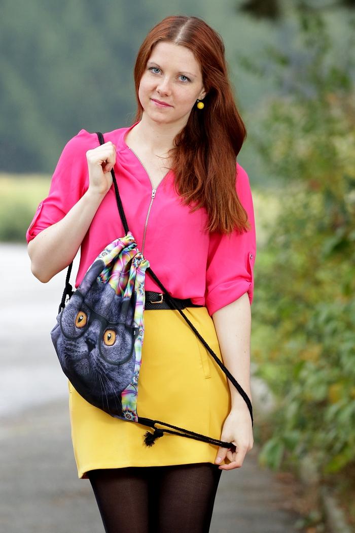 wayfarer, vak s kočkou, lucie srbová, česká blogerka, módní blogerka