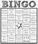 Bookish Bingo challenge: October to December