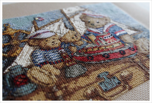 Dimensions Мишки, на палубу вышивка