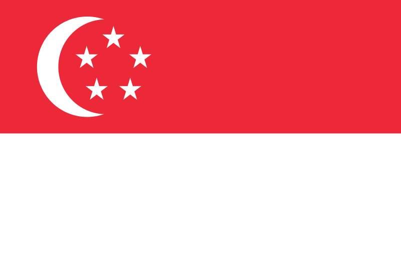 Gambar Bendera: Bendera Singapura