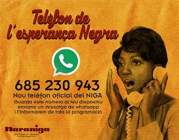 El telèfon de l'esperança negra