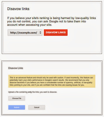 Manual removal of bad links with Google Disavow link tool - the new challenge for SEO