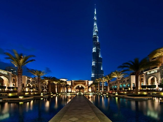 Hotel Downtown Palace Dubai.