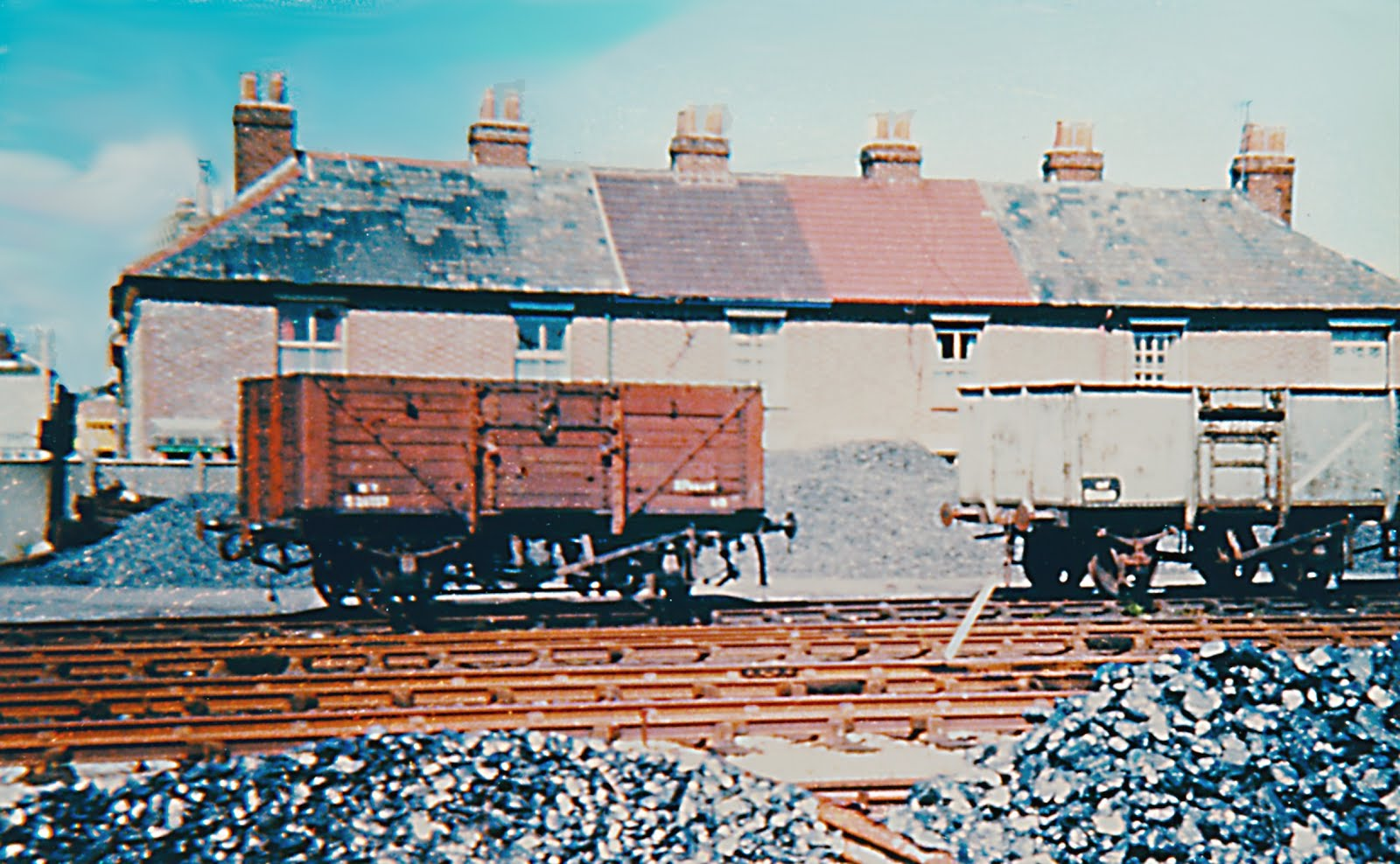 Wagon in Goods Yard