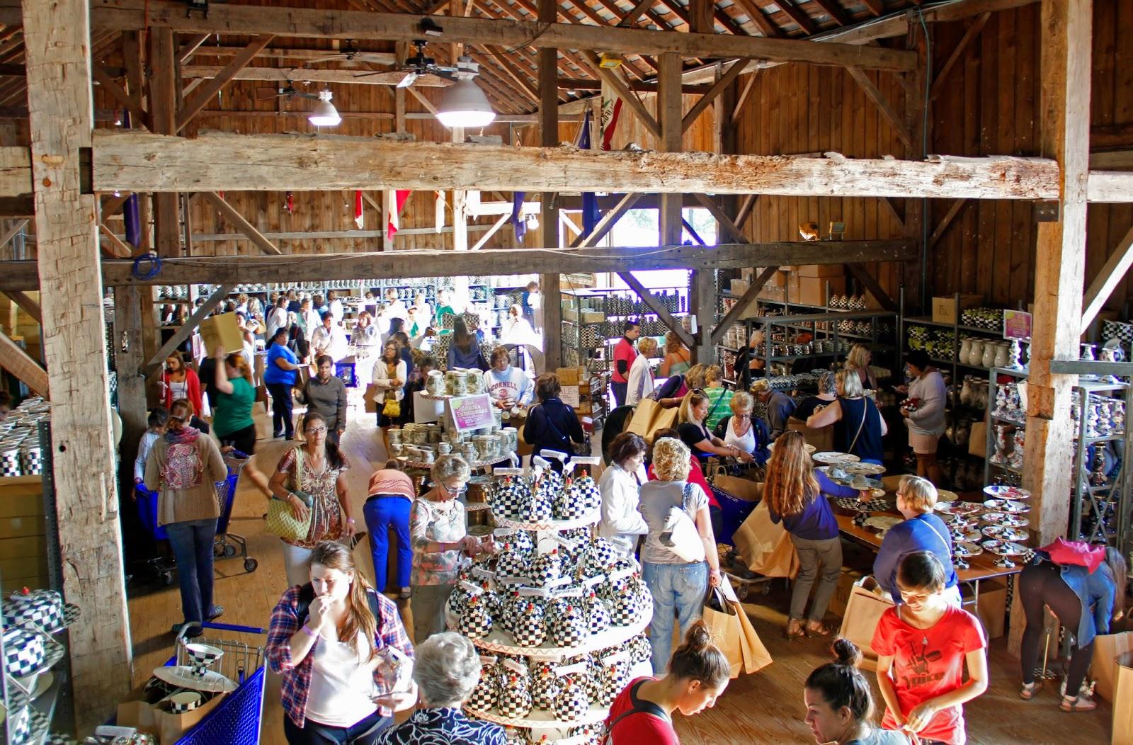 MacKenzie Childs Barn Sale 2015 Mountain Breaths