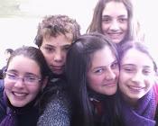 Con: Pao, Naty, Melani, Lucas y Yo!!