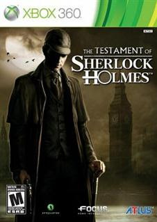 The Testament of Sherlock Holmes   XBOX 360