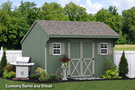 Landscaping Amish Backyard Structures from PA