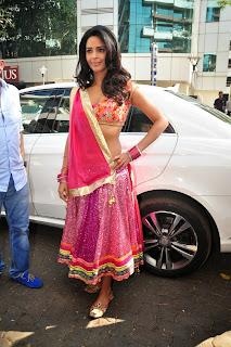 Actress Mallika Sherawat Latest  Pictures in Lehenga Choli at Dirty Politics Audio Launch  9