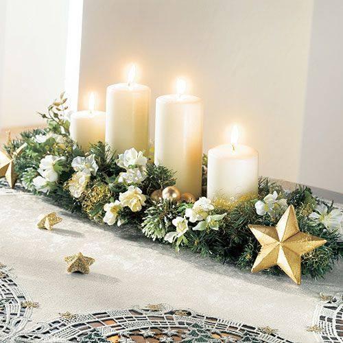 Velas navide as cositasconmesh for Velas navidenas