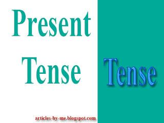 Pengertian Present Tense