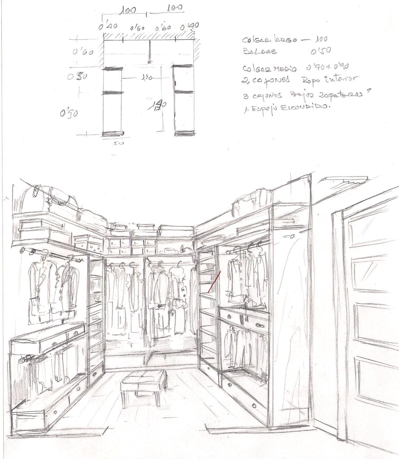 Cambiar Baño Por Vestidor:Interiorismo y Decoracion Lola Torga: UN DORMITORIO TRANSFORMADO EN