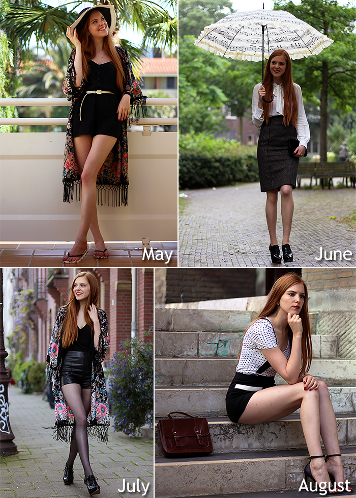 Vintage fashion blogger outfit of the year 2014 recap