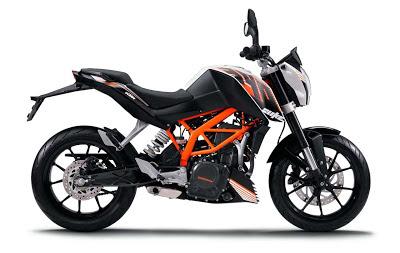Gambar KTM Duke 390