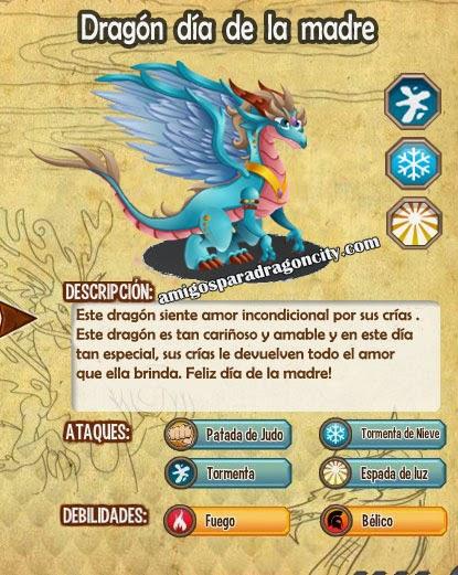 imagen de las caracteristicas del dragon dia de la madre