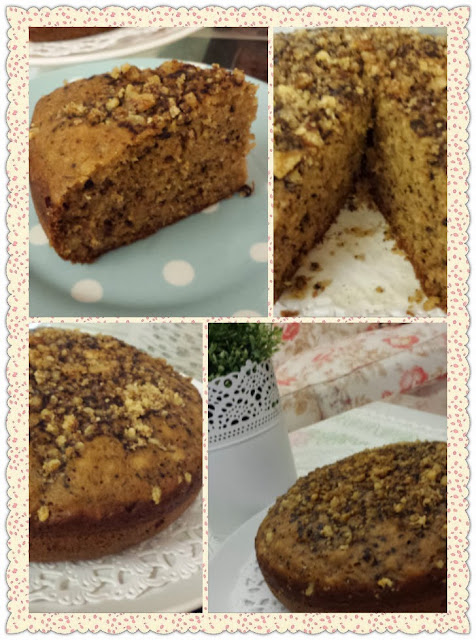 On 13 Nov 2013 Agnes T Emailed Me A Picture Of Her Lovely Banana Cake Witha Additional Slices In Between Along With This Message Hi I Did This Today And