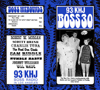 KHJ Boss 30 No. 185 - The Real Don Steele with Goldie Hawn and Judy Carne