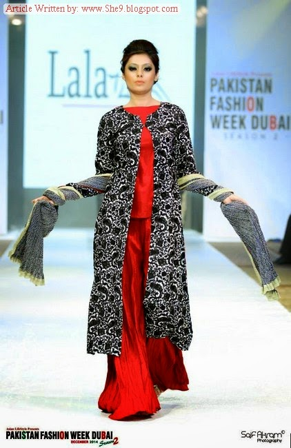 Lala Winter Dresses at Pakistan Fashion Show at Dubai
