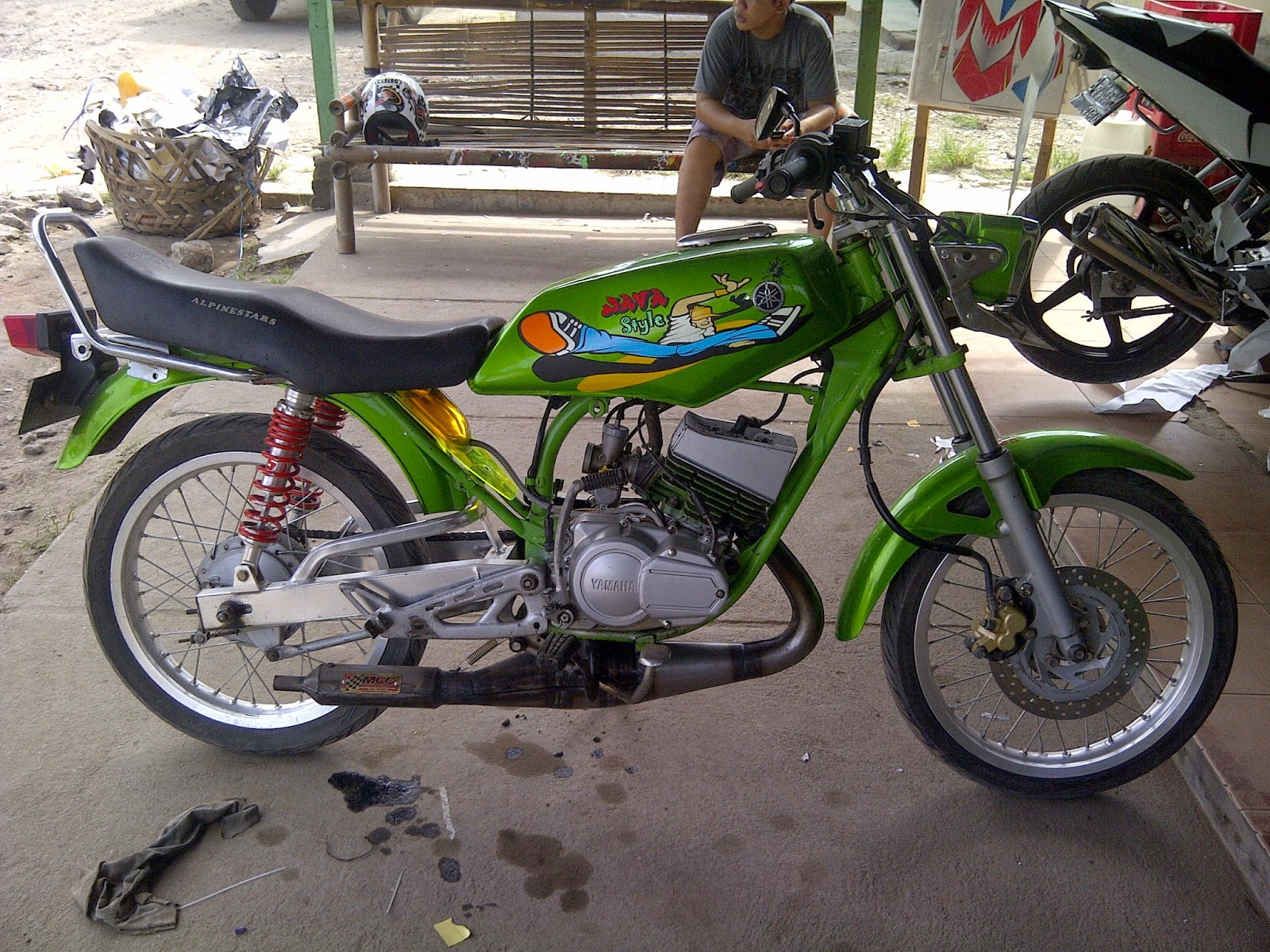 RX King Modifikasi