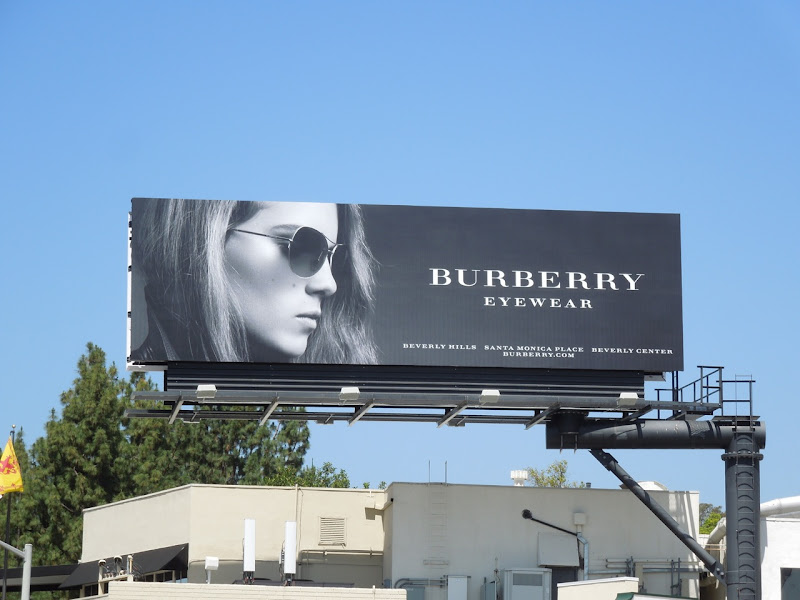 Burberry Eyewear 2012 billboard