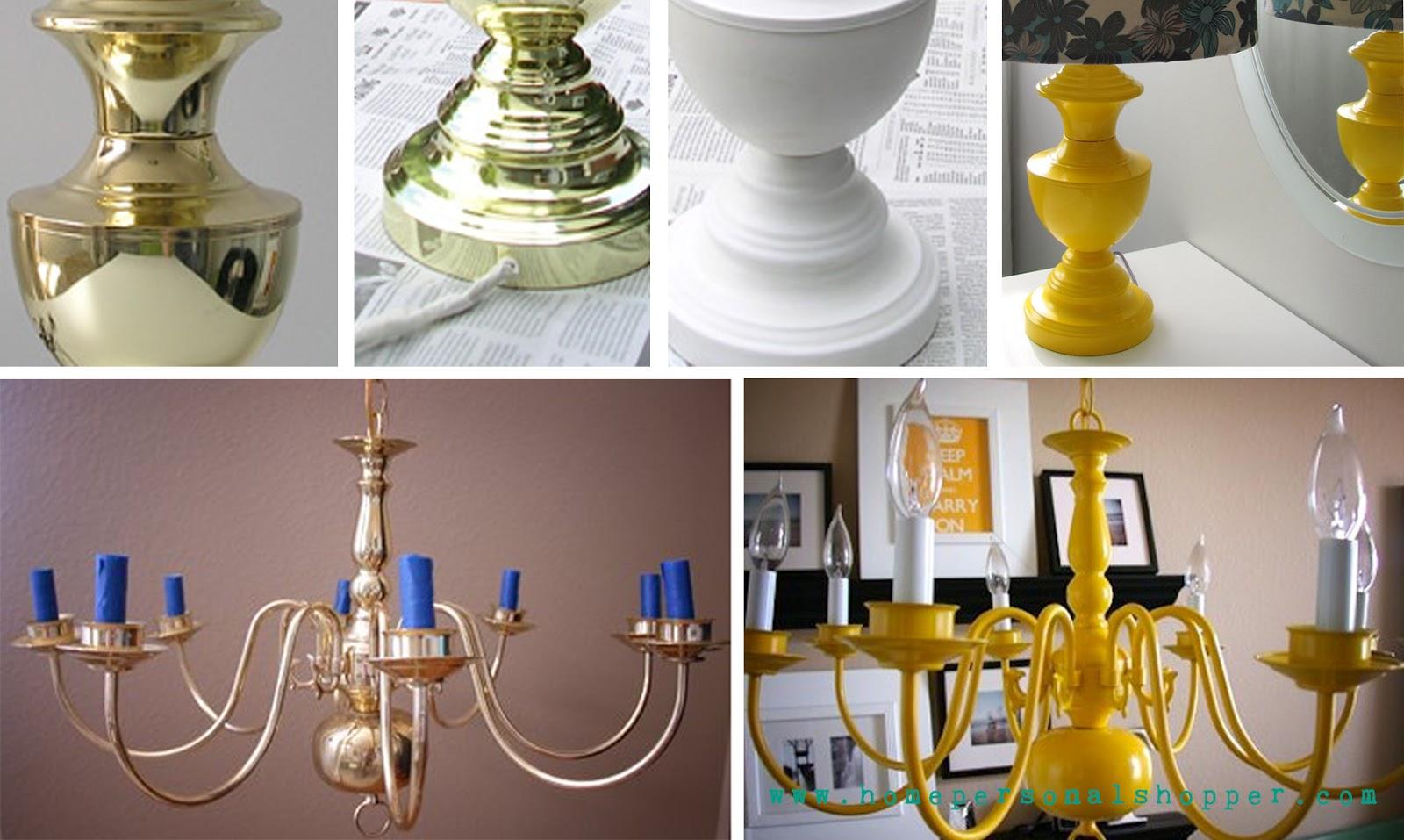 Pintar muebles spray hacer bricolaje es - Pintar lamparas de techo ...