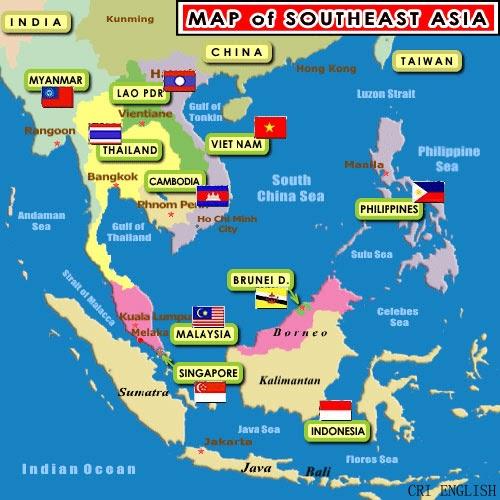 Gamapenta Blogspot Negara Kawasan Asia Tenggara Asean Gambar Peta Yg