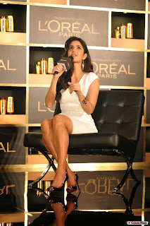 Actress Katrina Kaif Phtoos in Short Dress at L