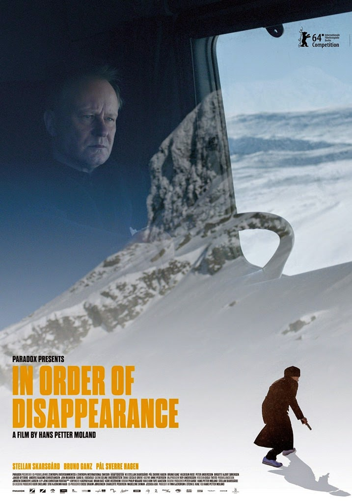 in order of disappearance-kraftidioten