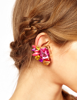 Jeweled Earring Cuff
