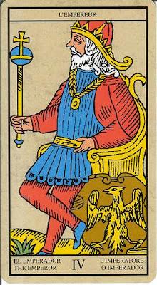 Arcanos mayores IV El Emperador